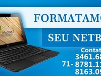 Formatação de Ultrabook e Notebook - Internet / Multimídia - Salvador