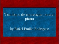 Tumbaos de merengue para el piano pdf ebook - Música / Teatro / Danza - New York