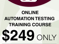 Automation Testing Online Training at $249 - Otros Servicios - Chicago