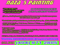 INTERIOR PAINTING*($0.25 Cents SqFt)*Atlanta - Construcciones - Atlanta