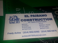 repair.roof.fence.texture.paintig.tile.all tipes of remodel stimates free - Construcciones - Dallas